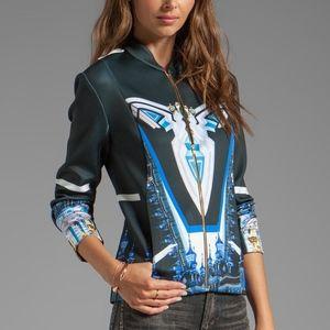 Clover Canyon Crystal Palace Neoprene Jacket